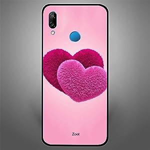 Zoot Case Cover for Huawei Nova 3e (Love Heart)