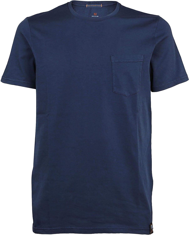 PARAJUMPERS Men's PMFLETS01562 bluee Cotton TShirt