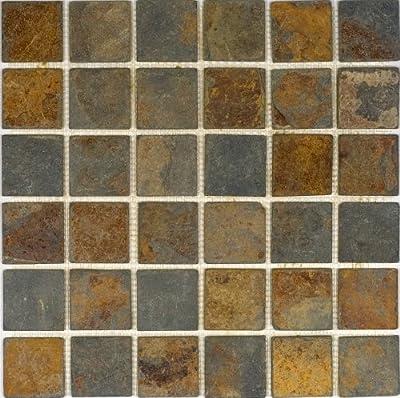 Epoch Tile SU2X2 2x2 Sunsets Tumbled Slate