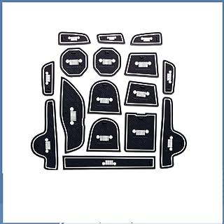 YCGJ Coussins de Gorge de Porte de Voiture Pad de bo/îte daccoudoir antid/érapant Gate Slot Pad Tapis int/érieur Anti-poussi/ère Automatique pour VW Volkswagen Polo 11-16