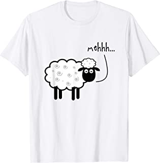 meh sheep t shirt