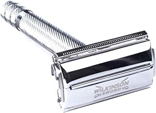 Wilkinson Sword Classic Double Edge Safety Razor with 10
