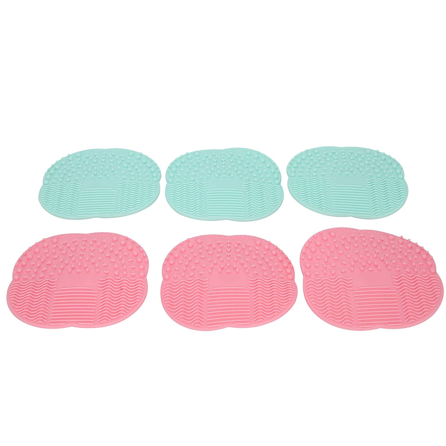 6pcs Makeup Brush Cleaner Pad Practical Ranking TOP8 cosmetic Shipping included brush cleaning