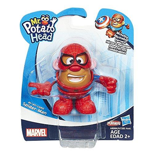 Playskool – Marvel – Mr. Potato Head – M. Patate Spider-Man – Mini Figurine 8 cm