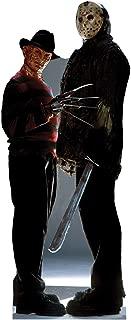 Advanced Graphics Freddy vs. Jason Life Size Cardboard Cutout Standup - Freddy vs. Jason (2003 Film)