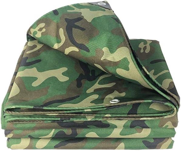 Caixia Filet d'ombrage, Bache de camouflage, couvre-sol imperméable en toile de camping for la pêche en plein air en tissu Oxford (2m x 2m (6,56 x 6,56 pi)) (Taille   6X7m)