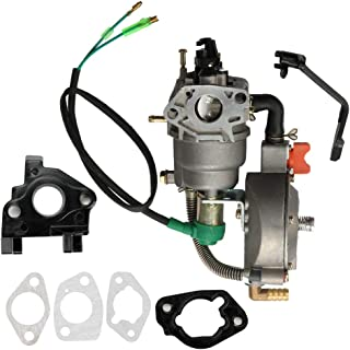 HONEYRAIN Carburetor LPG NG Conversion kit for Honda GX390 188F 4.5-5.5KW 13-14HP GX270 Generator with Gasket Spacer Insulator