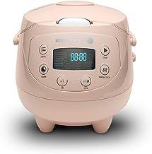 Reishunger Digitale rijstkoker (0,6l/350W/220V) Multicooker met 8 programma's, 7-fasen-technologie, premium binnenpan, tim...