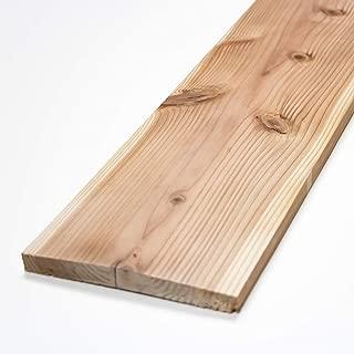 川島材木店 杉板 DIY壁用(4枚セット) 910x170x18mm