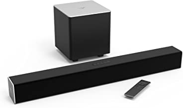 VIZIO 2.1 Sound Bar SB2821-D6 with Wireless Subwoofer Bluetooth 95dB SPL, Black