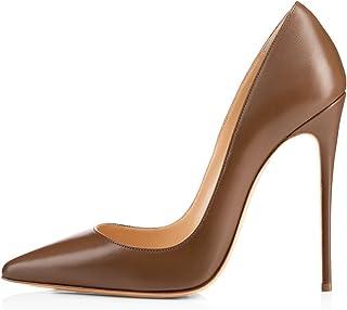d4abf9233346b Amazon.co.uk: Brown - Court Shoes / Women's Shoes: Shoes & Bags