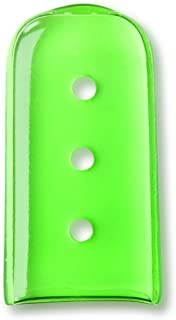 Key Surgical 3-08-13 Instrument Protection Osteotome Cap, Green Tint with Vents (Pack of 100)