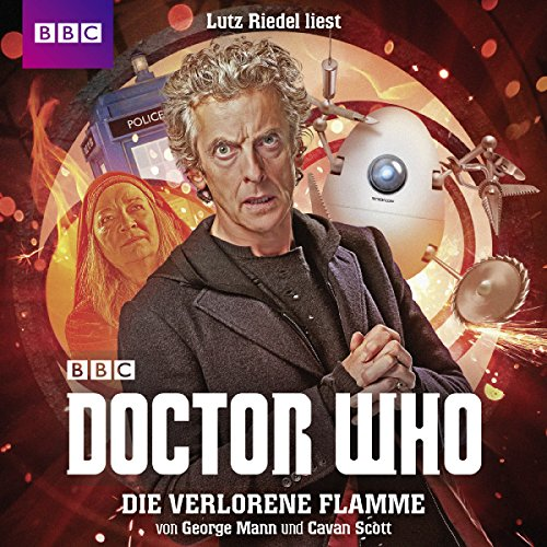 Die verlorene Flamme audiobook cover art