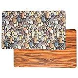 Art3d Premium Reversible Anti Fatigue Kitchen Mat Non-Slip Kitchen Rug Standing Floor Mat (18x30,...