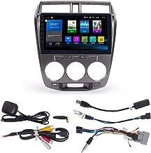 KUNFINE Quad Core Android 8.0 Car DVD GPS Navigation Autoradio Car Stereo Multimedia Player Car Radio for Honda City 2008 Headunit Supports Steering Wheel Control