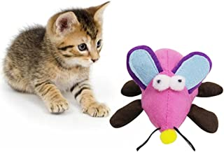 PanDaDa Pet Cat Soft Cotton Mouse Toy Cat Kitten Pull-String Shaking Toy Cat Interactive Toy