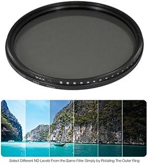 72mm ND Filter Canon EF//EF-S 72 mm ND Filter Japan Zeiss Batis 72mm Neutral Density Filter 8 Stops of Light ND Adjustable Neutral Density Variable Fader Filter Lens 72mm for Nikon AF-S Nikkor