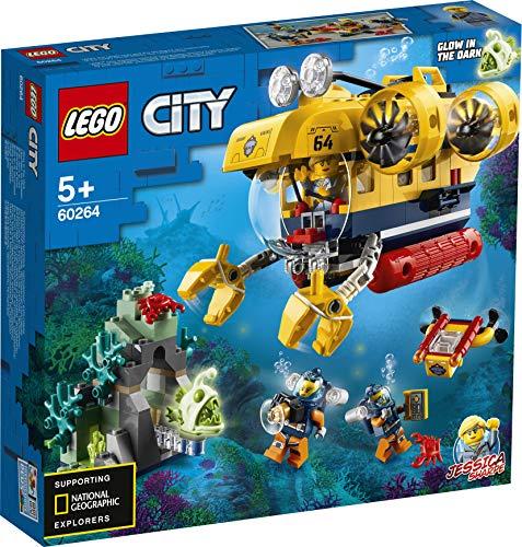 LEGO CityOceans Océano ExploraciónSet Aguas Profundas,Juguetes de Aventuras Submarinas para Niño, Multicolor (60264)