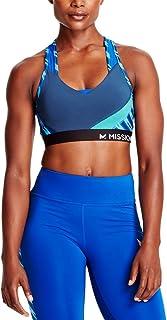 MISSION Womens Vaporactive All Season Cooling Temper Racerback Medium Impact Sports Bra MISSP17W019-P