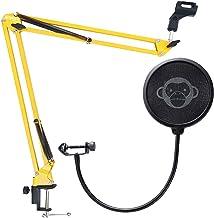 Monkey Banana Monkey Pop Popschutz + Gelenkarm Mikrofon-Stativ Gelb