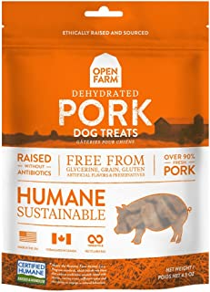 Open Farm Dehydrated Grain-Free Pork Treats 4.5 Ounces