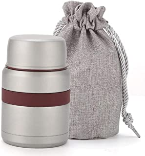 WCHCJ Thermal Triple Insulated Food Container Hours Leak Proof Thermos Soup Jar All Stainless Interior (Color : C)