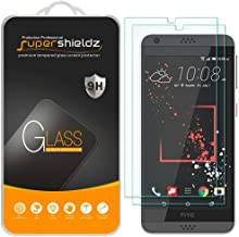 (2 Pack) Supershieldz for HTC Desire 530 Tempered Glass Screen Protector, Anti Scratch, Bubble Free