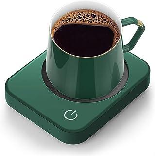 Mug Warmer for Desk, Coffee Mug Warmer with Auto Shut Off, ANBANGLIN Coffee Warmer for Coffee Milk Tea, Candle Wax Cup War...