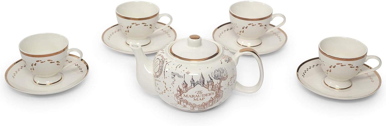 Ukonic Harry Potter Ranking TOP1 Marauders Map 10-Piece Set Quantity limited Porcelain Tea H