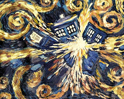 1art1 Doctor Who - Exploding Tardis Mini-Poster 50 x 40 cm