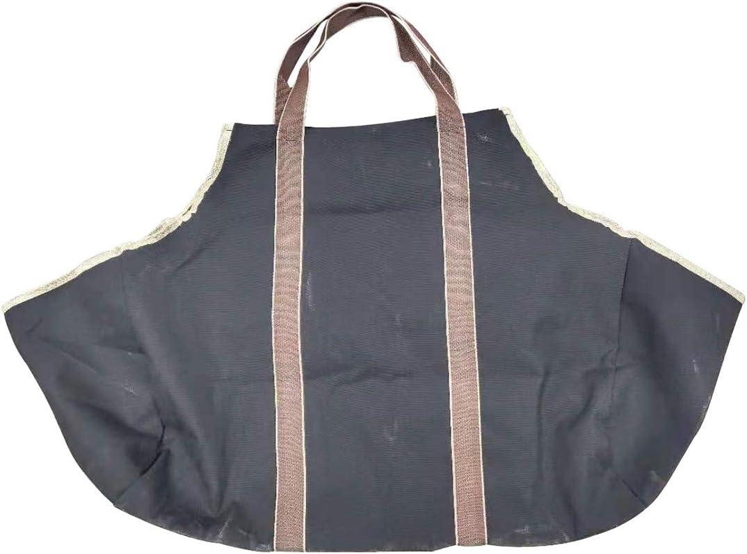 MonTely Superior Large Canvas Firewood Popular popular Carrier Firepl Log Indoor Tote Bag
