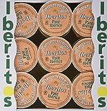 Iberitos Paté Ibérico con Hígado de Cerdo - 6 Paquetes de 18 x 23 gr - Total: 2484 gr