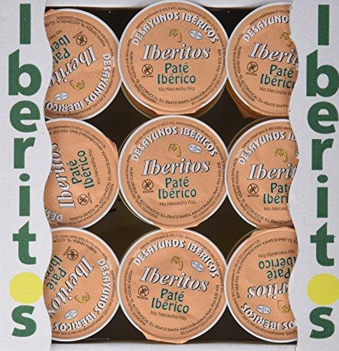 Iberitos - 18 Monodosis de Crema de Iberico - 18 x 22 gr