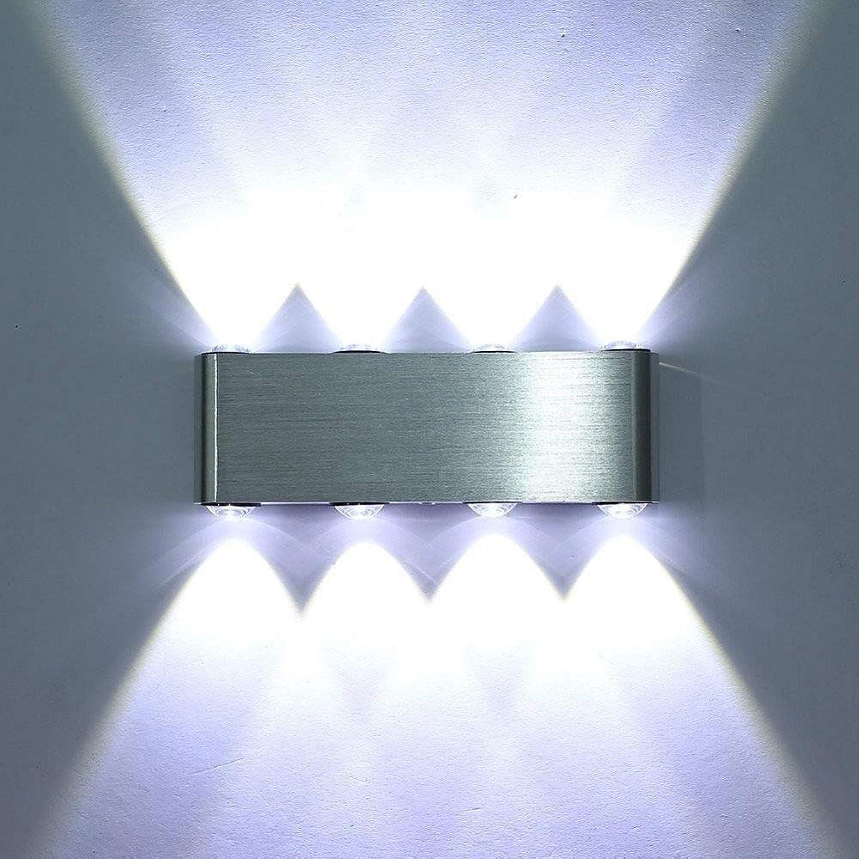 Moderne Auf Und Ab Beleuchtung Led Wandleuchte Wandleuchte Innen Korridor Wandleuchte Aluminium Dekorative Beleuchtung Wand Beleuchtung Wandleuchten (Farbe   Weiß)
