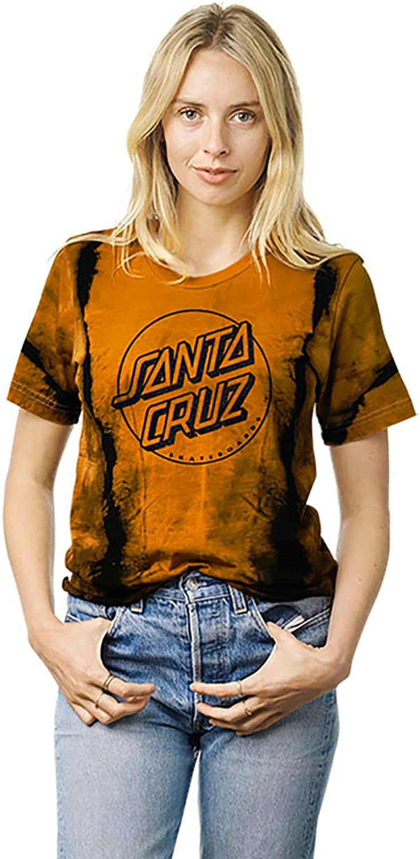 Santa Cruz Women's Opus Dot Foil Crop Boyfriend Shirts
