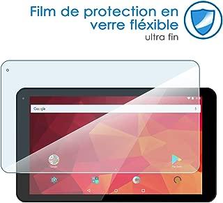 Lovewlb Tablettes Coque pour Logicom L-Ement Tab 1040 10.1 Coque Etui Housse Support Int/égr/é Multi-Angle,Cuir Tablet Case Cover Lang