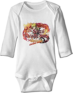 The Seven Deadly Sins Baby Bodysuits Unisex Baby Long Sleeve Cotton Bodysuits
