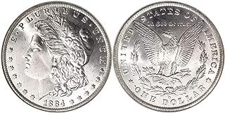 1884 O GEM BRILLIANT UNCIRCULATED 1884 NEW ORLEANS MORGAN SILVER DOLLAR $1 Gem Uncirculated