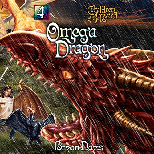Omega Dragon audiobook cover art