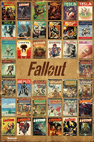 Fallout 4- Pulp Fiction Compilation Poster 24 x 36in