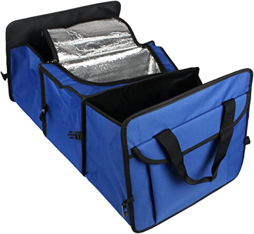 wholesale Foldable 3-Compartment Auto Car Trunk Organizer With Cooling outlet online sale and outlet sale Insulation outlet online sale