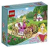 LEGO DisneyPrincess LaCarrozzaRealediAurora, Playset Giocattolo della Bella Addormentata, 43173