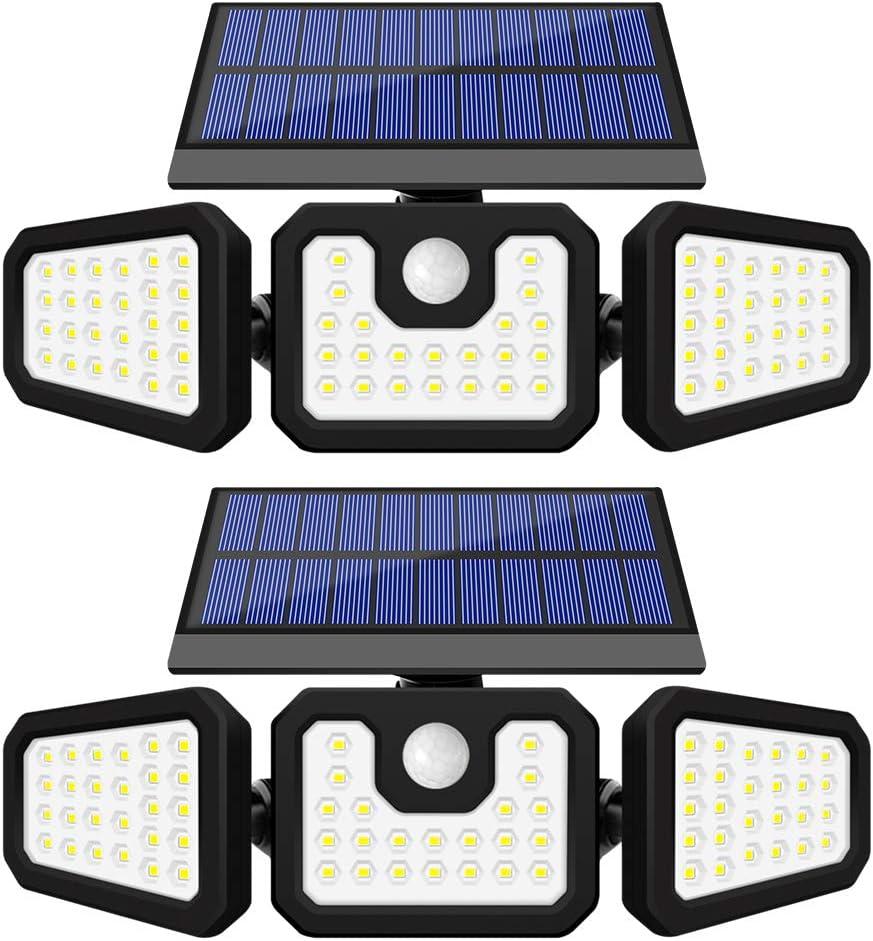 GSBLUNIE Solar Lights Outdoor Motion Sensor LEDs Ranking TOP4 Save money Sola 2 74 Pack