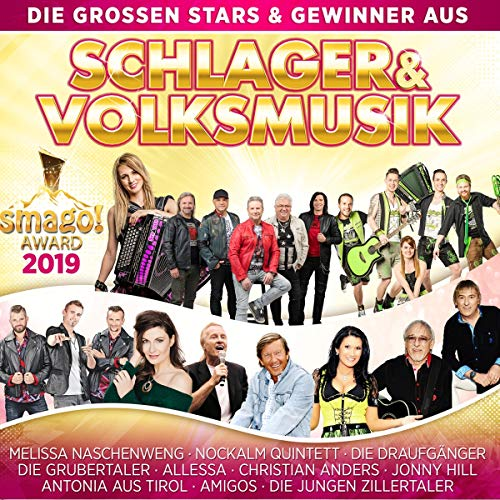Die großen Stars und Gewinner aus Schlager & Volksmusik - Smago Award 2019
