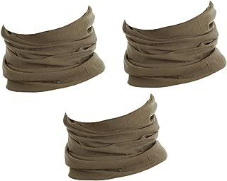Taille unique Hilltop Echarpe tube multifonction Bandana Snood sans couture 100/% Polyester Tour de cou de sport Echarpe homme et femme