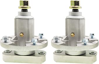 q&p 2 Pieces Rep. GY20050, GY20785 Spindle Assembly with Mounting Screws Replaces Oregon: 82-356,Stens: 285-093 ;