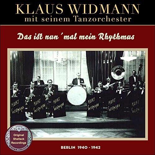 Kurt Widmann & seinem großen Tanzorchester