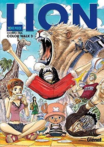 One Piece Color Walk - Tome 03: Lion