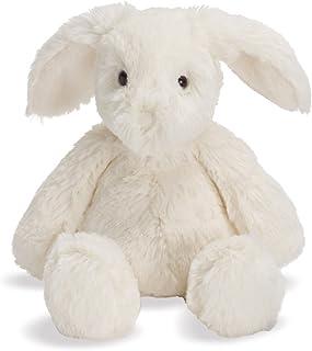"Manhattan Toy Lovelies White Riley Rabbit Stuffed Animal, 6"""