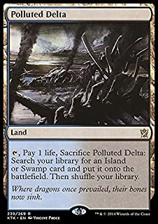 Magic: the Gathering - Polluted Delta (239/269) - Khans of Tarkir